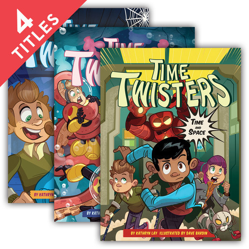 Cover: Time Twisters