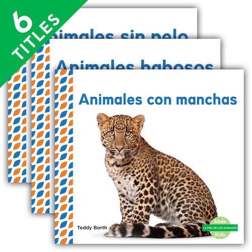 Cover: La piel de los animales (Animal Skins) (Spanish Version)