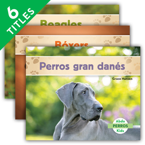 Cover: Perros (Dogs Set 2) (Spanish Version)