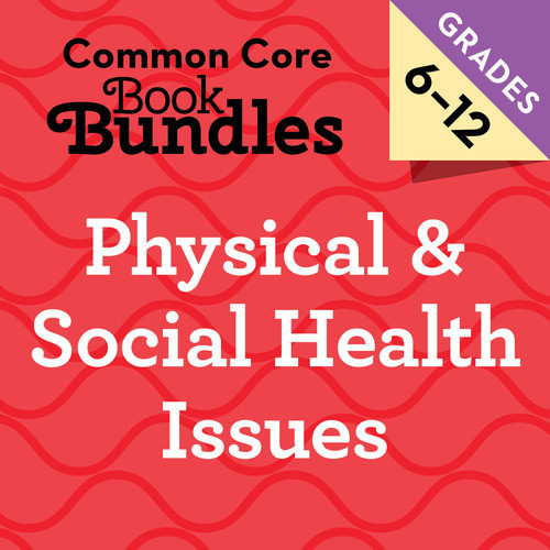 Cover: 6-12 Physical & Social Health Issues Bundle