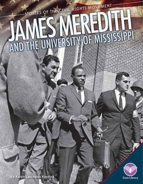 Cover: James Meredith and the University of Mississippi