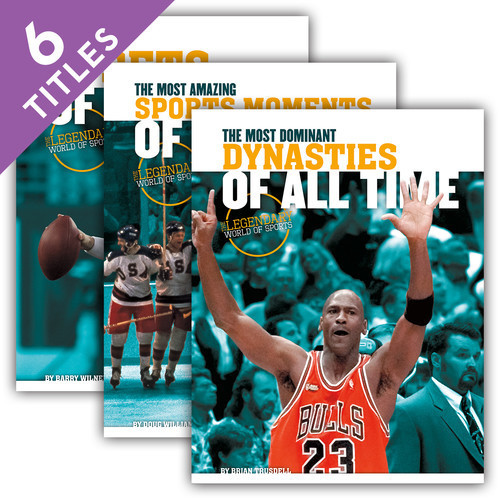 Cover: The Legendary World of Sports