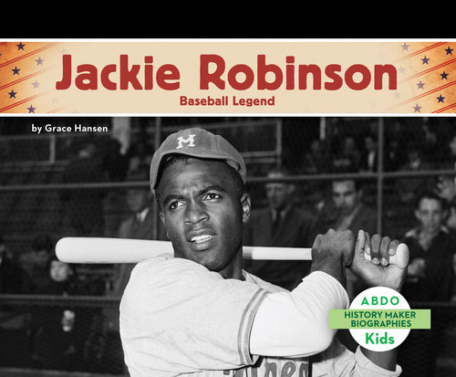 Cover: Jackie Robinson: Baseball Legend