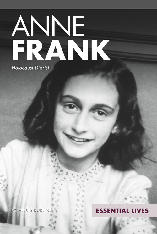 Cover: Anne Frank: Holocaust Diarist