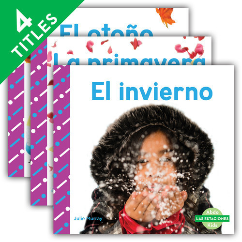 Cover: Las estaciones (Seasons) (Spanish Version)