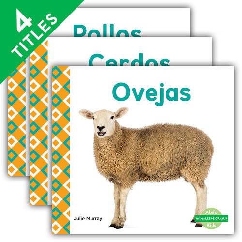 Cover: Animales de granja (Farm Animals) (Spanish Version)