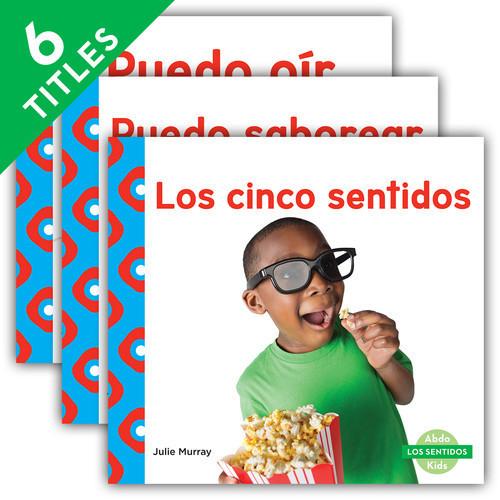 Cover: Los sentidos (Senses) (Spanish Version)