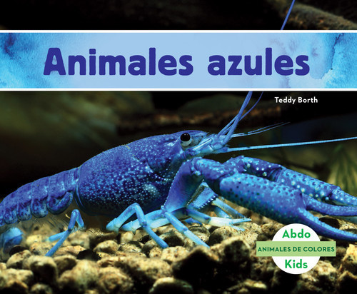 Cover: Animales azules