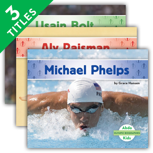 Cover: Olympic Biographies Set 1