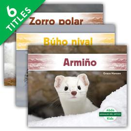 Cover: Animales del Ártico (Arctic Animals)