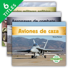 Cover: Vehículos y aeronaves militares (Military Aircraft & Vehicles)