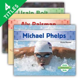 Cover: Biografías de deportistas olímpicos (Olympic Biographies)