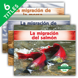 Cover: La migración animal (Animal Migration) (Spanish Version)