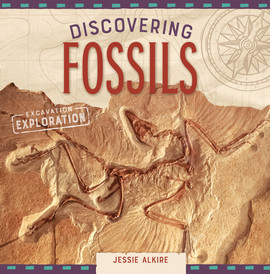 Cover: Discovering Fossils