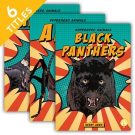 Cover: Superhero Animals
