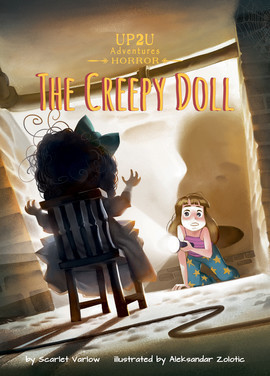 Cover: The Creepy Doll: An Up2U Horror Adventure