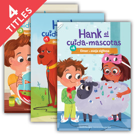 Cover: Hank el Cuida-Mascotas Set 1 (Hank the Pet Sitter Set 1)