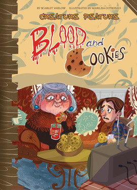 Cover: Blood and Cookies