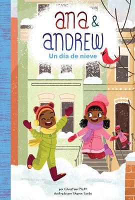 Cover: Un día de nieve (A Snowy Day)