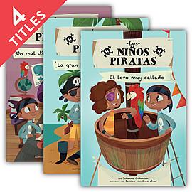 Cover: Los niños piratas (The Pirate Kids)