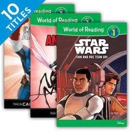 Cover: World of Reading Level 1 Set 3