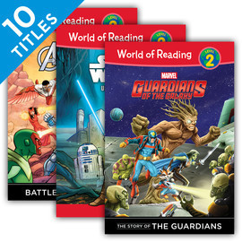 Cover: World of Reading Level 2 Set 2