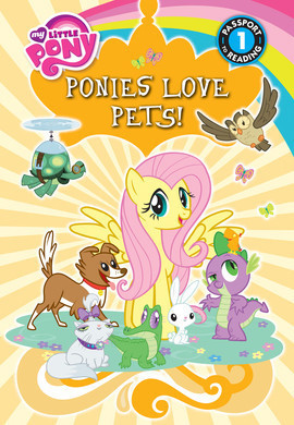 Cover: Ponies Love Pets!