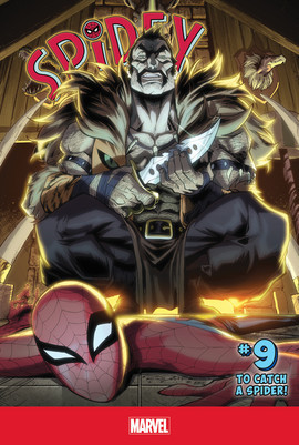 Cover: Spidey #9: To Catch A Spider!