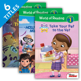 Cover: World of Reading Level 1 Set 4