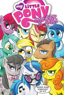 Cover: My Little Pony: Friendship is Magic: Vol. 10