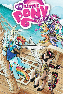 Cover: My Little Pony: Friendship is Magic: Vol. 14