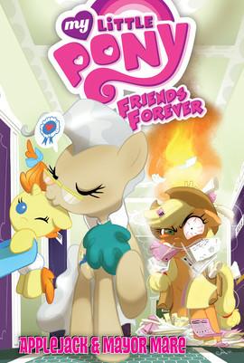 Cover: Applejack & Mayor Mare