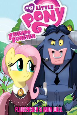 Cover: Fluttershy & Iron Will