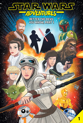 Cover: Star Wars Adventures #1: Better the Devil You Know, Part 1