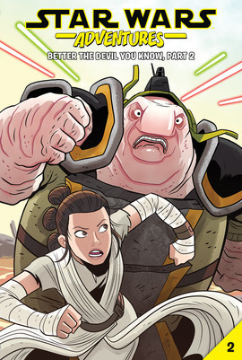 Cover: Star Wars Adventures #2: Better the Devil You Know, Part 2