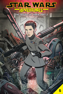 Cover: Star Wars Adventures #5: The Trouble at Tibrin, Part 2