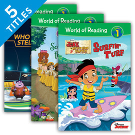 Cover: World of Reading Level 1 Set 5