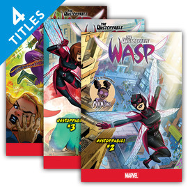 Cover: The Unstoppable Wasp