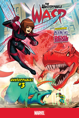 Cover: Unstoppable! #3