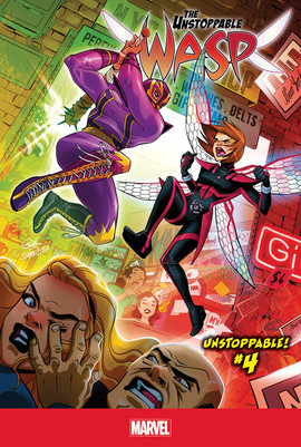 Cover: Unstoppable! #4