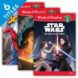 Cover: World of Reading Level 2 Set 3