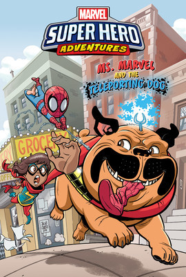 Cover: Ms. Marvel and the Teleporting Dog