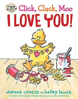 Cover: Click, Clack, Moo I Love You!