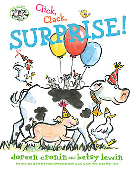 Cover: Click, Clack, Surprise!