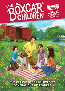 Cover: The Boxcar Children