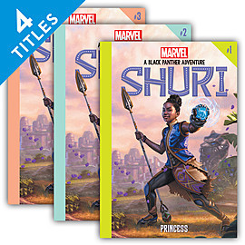 Cover: Shuri: A Black Panther Adventure