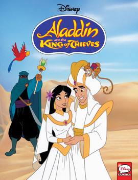 Cover: Aladdin and the King of Thieves