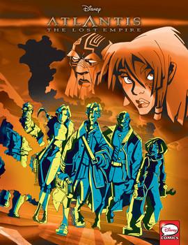 Cover: Atlantis: The Lost Empire