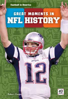 Cover: Great Moments in NFL History