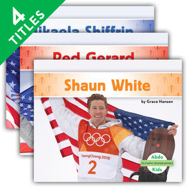Cover: Olympic Biographies Set 2